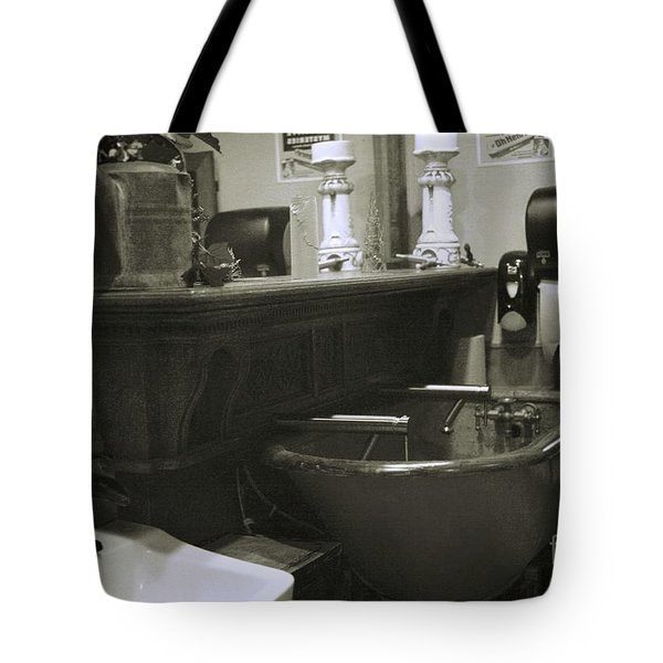 Tote Bag featuring the photograph Back When by Lori Mellen-Pagliaro