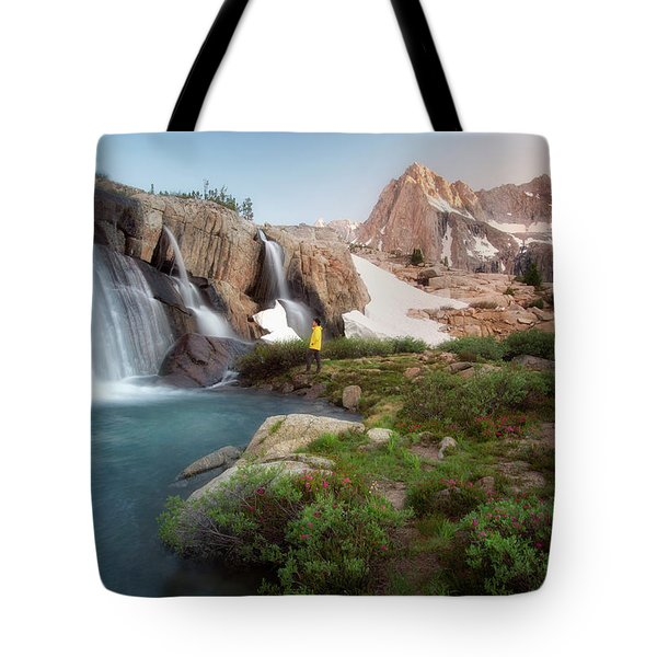 Backcountry Views Tote Bag by Nicki Frates
