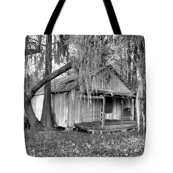 Backdoor Fishing Tote Bag by Jan Amiss Photography