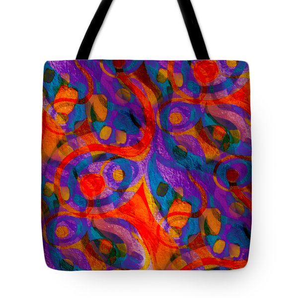 Background Choice Coffee Time Abstract Tote Bag