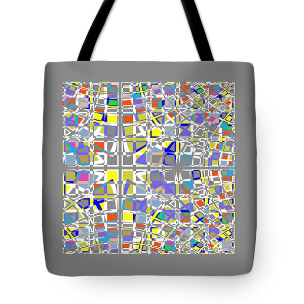 Background Choice Squares Tote Bag