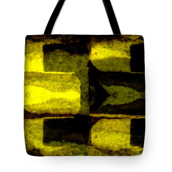 Colour Choice Stone Abstract Tote Bag