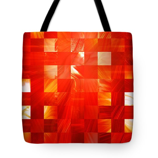Background Heat Tote Bag