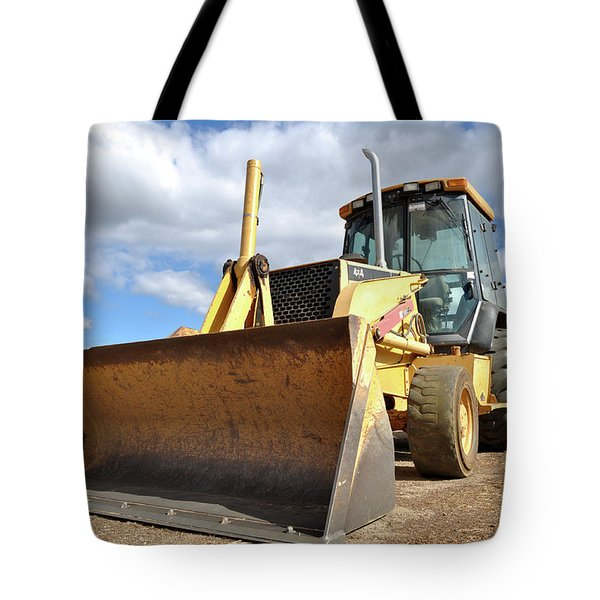 Backhoe Tractor Construction Tote Bag