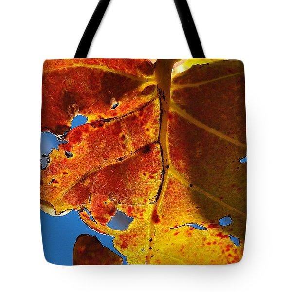 Backlit Beauty Tote Bag