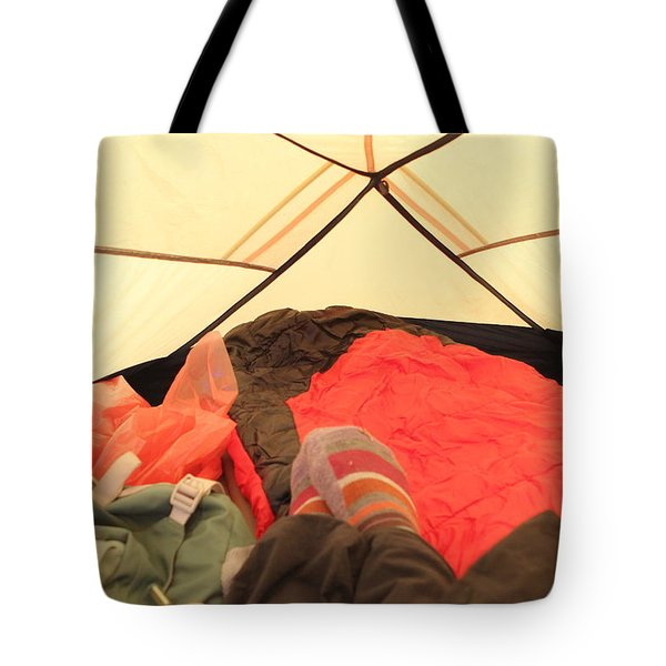 Backpacking Moments Tote Bag