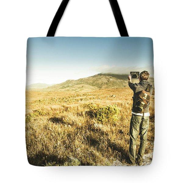 Backpacking Wonders Tote Bag
