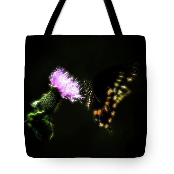 Backroad Butterfly Tote Bag