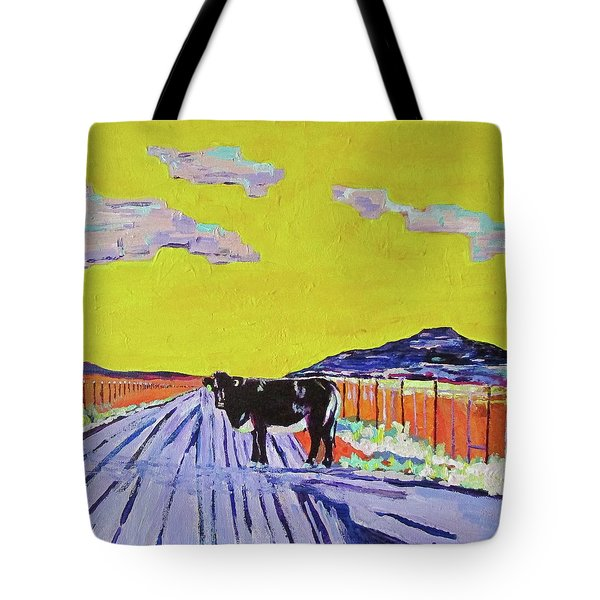 Backroads Abiquiu, New Mexico Tote Bag by Brenda Pressnall