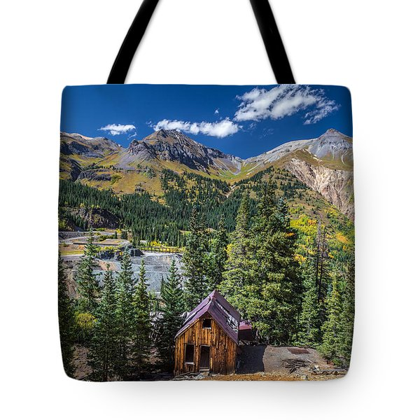 Backroads In San Juan Mountains Tote Bag