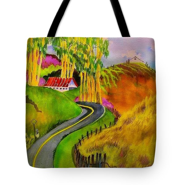 Backroads Sonoma County  Tote Bag