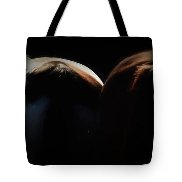 Backsides Tote Bag by Kathy Russell