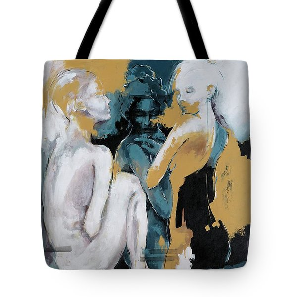 Backstage - Beauties Sharing Secrets Tote Bag