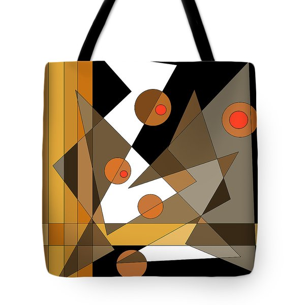Backstage Confusion Tote Bag