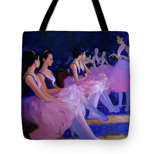 Backstage Tote Bag by Kevin Lawrence Leveque