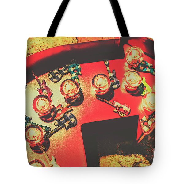 Backstage Pass Tote Bag
