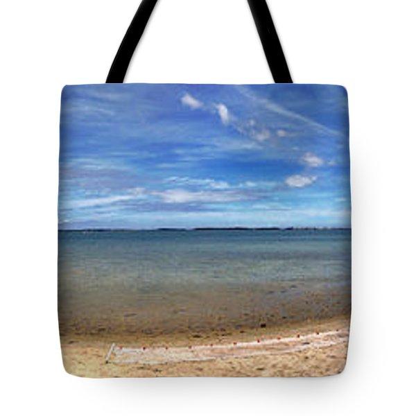 Backwater Bay Pano Tote Bag