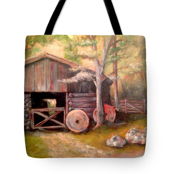 Backwoods Barn Tote Bag