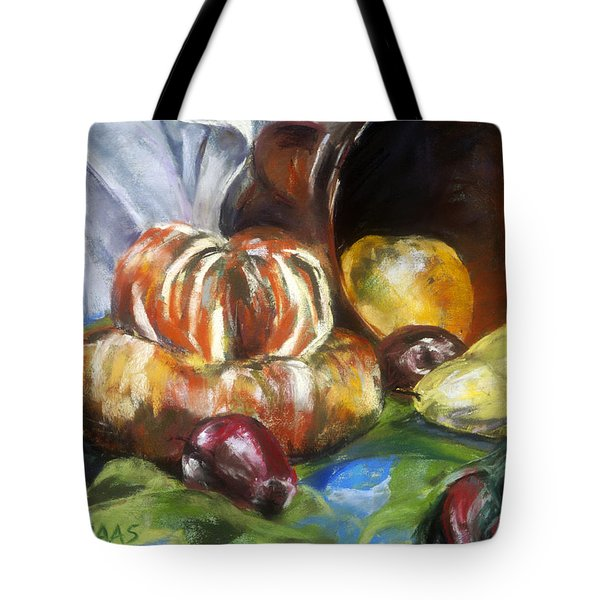 Backyard Bounty Tote Bag by Julie Maas