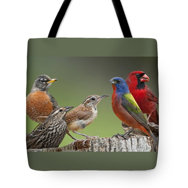 Backyard Buddies Tote Bag