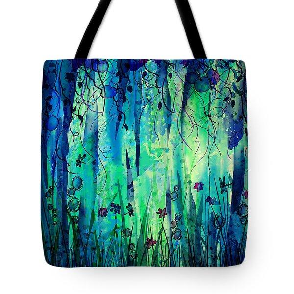 Backyard Dreamer Tote Bag by Rachel Christine Nowicki