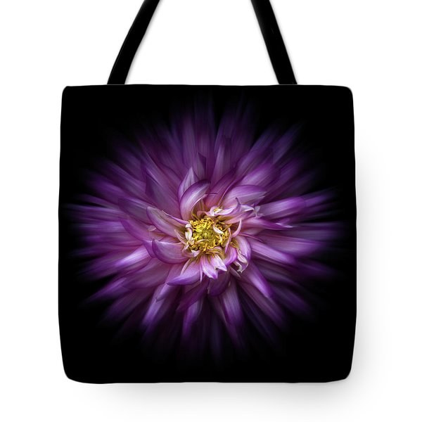 Tote Bag featuring the photograph Backyard Flowers 20 Color Flow Version by Brian Carson
