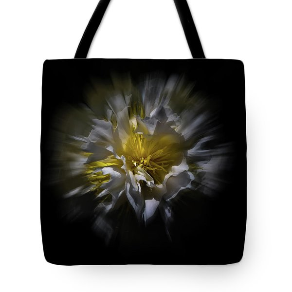 Backyard Flowers 25 Color Flow Version Tote Bag by Brian Carson