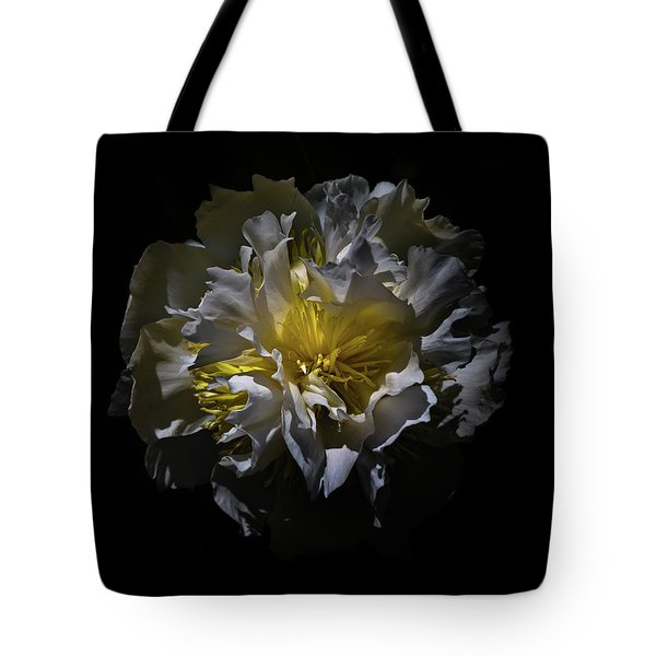 Tote Bag featuring the photograph Backyard Flowers 25 Color Version by Brian Carson