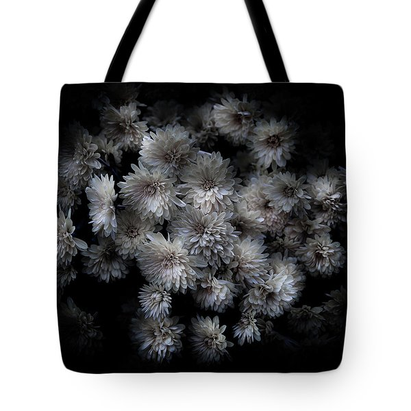 Backyard Flowers 29 Color Version Tote Bag