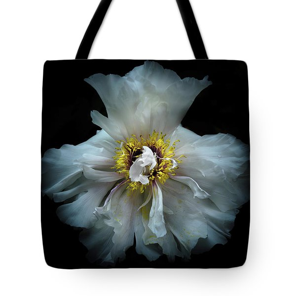 Tote Bag featuring the photograph Backyard Flowers 49 Color Version by Brian Carson