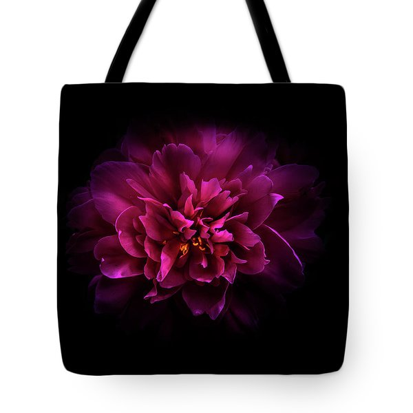 Backyard Flowers 55 Color Version Tote Bag