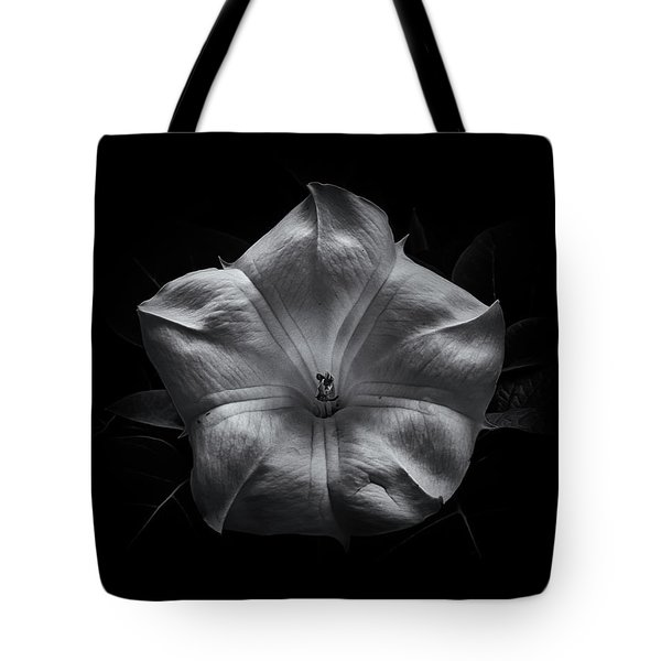 Tote Bag featuring the photograph Backyard Flowers In Black And White 24 by Brian Carson