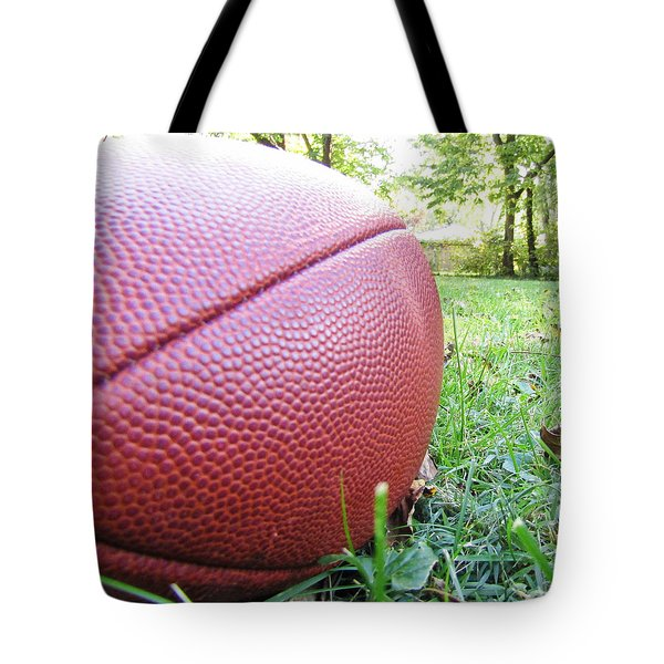 Backyard Football Tote Bag