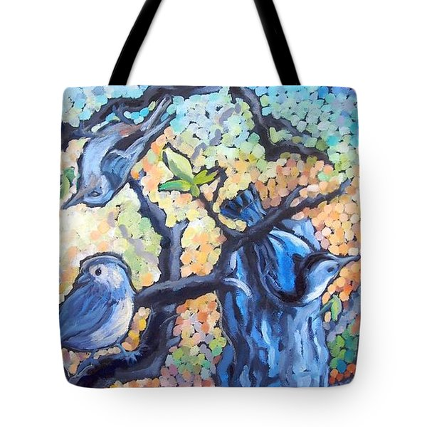 Backyard Gang Tote Bag