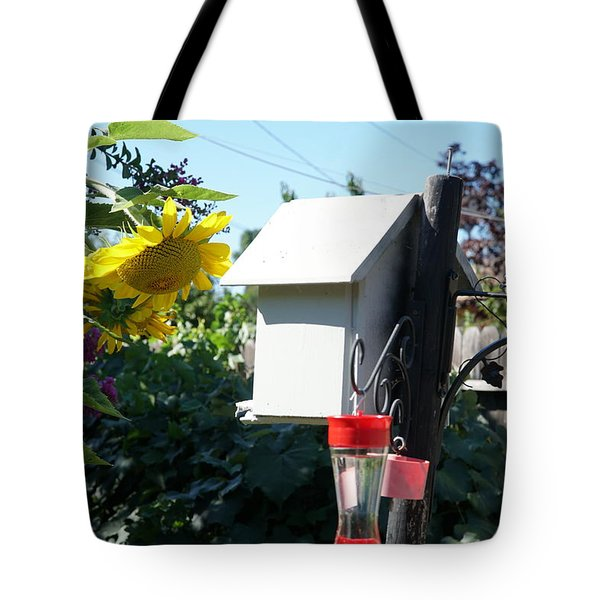 Backyard Garden Tote Bag