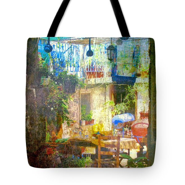 Backyard Idyll Tote Bag