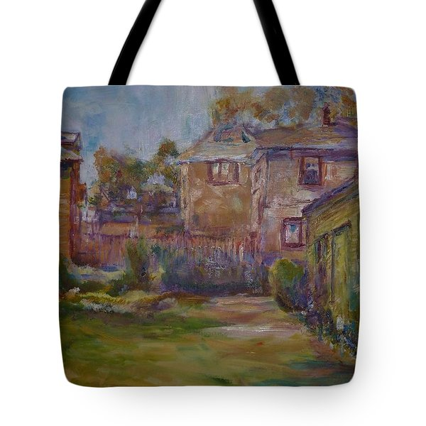 Backyard Impressions Tote Bag by Helen Campbell