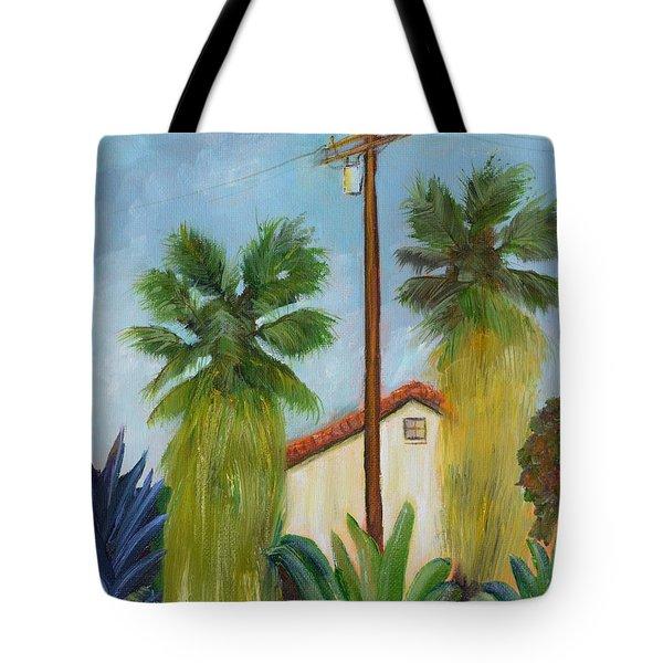 Backyard Tote Bag