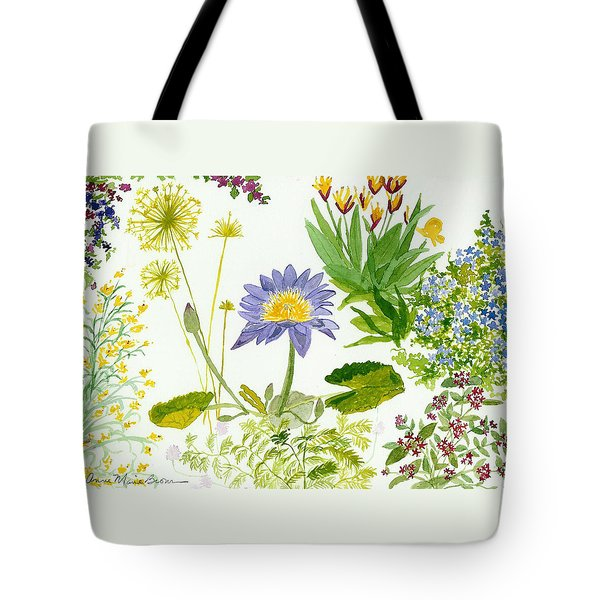 Backyard Study Tote Bag