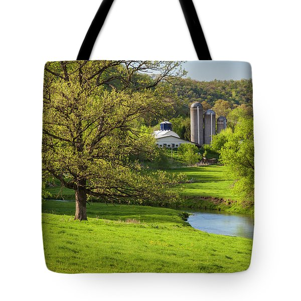 Bad Axe River Tote Bag