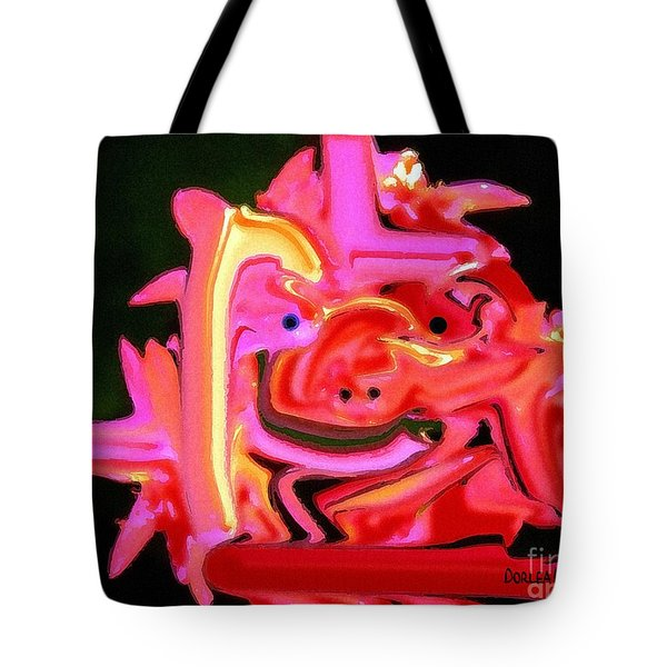 Bad Boy Troll Tote Bag
