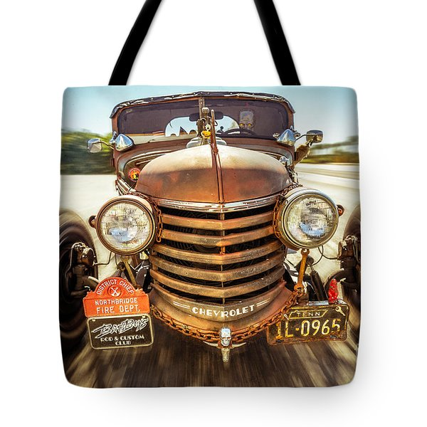 Tote Bag featuring the photograph Bad Boy's Toy by Jola Martysz