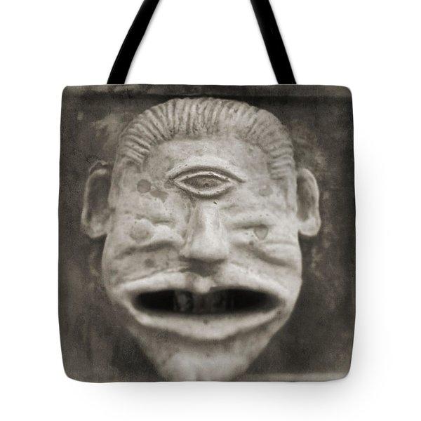 Bad Face Tote Bag