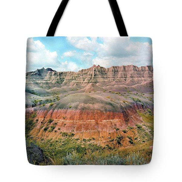 Bad Lands Tote Bag