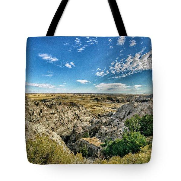 Bad Lands South Dakota.... Tote Bag