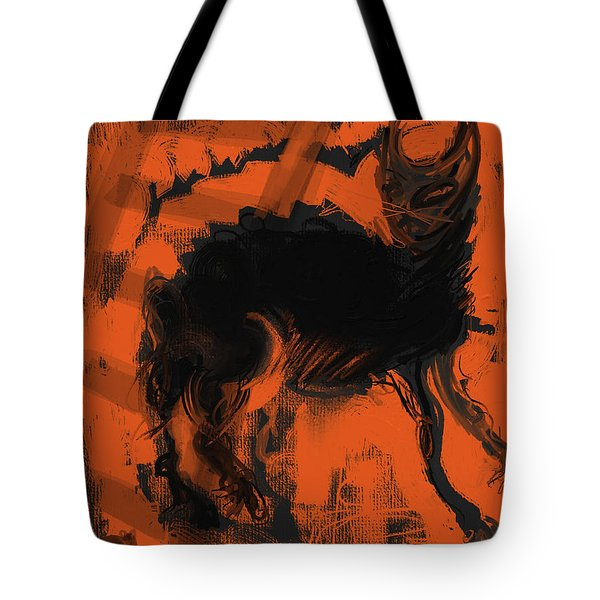 Bad Luck Tote Bag by Russell Pierce