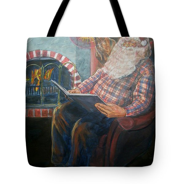 Bad Rudolph Tote Bag by Bryan Bustard
