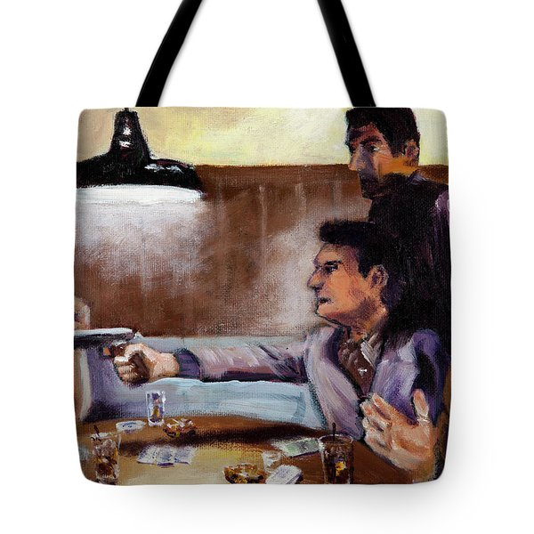 Bad Table Manners Tote Bag