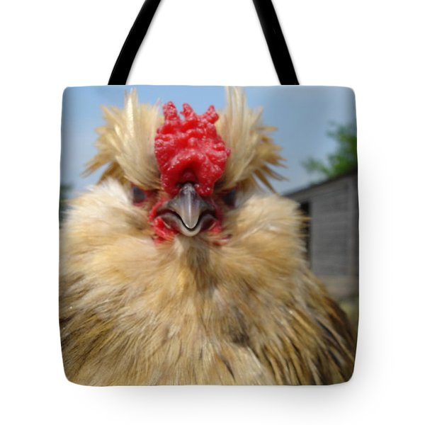 Bad Tempered Bearded Bantam Tote Bag