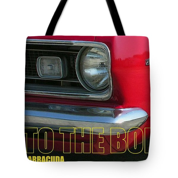 Bad To The Bone Tote Bag by Richard Rizzo